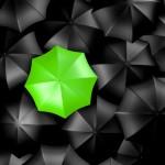 3D umbrellas