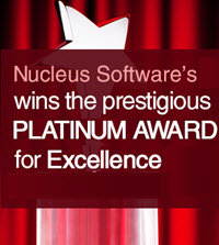 Nucleus Software's Annual Report wins the Prestigious Platinum Award