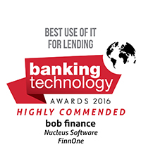 bob Finance and FinnOne win The Banking Technology Award 2016