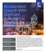Accelerated Growth With Digitized Automotive Finance in Cloud