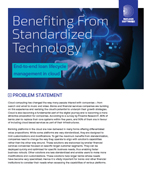 Benefiting From Standardized Technology - Lending In Cloud