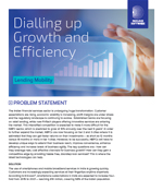 Dialling up Growth and Efficiency