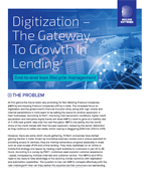 Digitization - The Gateway To Growth in Lending