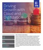 Driving Growth with Cloud and Digitization