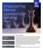 Empowering Market Leadership in Lending
