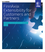 FinnAxia : Extensibility for Customers and Partners