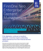 FinnOne Neo Enterprise Content Management