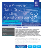 Four Steps to Data-Driven Lending Transformation - Step 1 Improve targeting