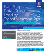 Four Steps to Data-Driven Lending Transformation - Step 4 Increase collection while reducing costs