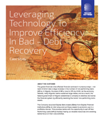 Leveraging Technology To Improve Efficiency In Bad Debt Recovery