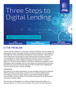 Three Steps to Digital Lending-Step 2 Increase convenience